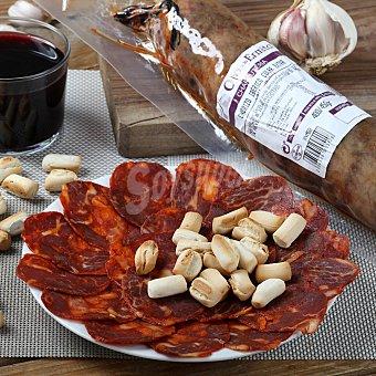 Chorizo ibérico extra Pieza de 500 g aproximadamente