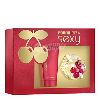 Pacha Ibiza Estuche colonia Sexy spray 50 ml. + body lotion 100 ml. 1 ud