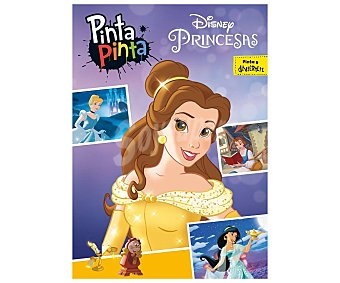 Disney Pinta, pinta, Princesas, VV.AA. Género: infantil. Editorial Libros.