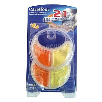 Carrefour Ambientador desodorante para lavavajillas limón Aparato + 2 recambios
