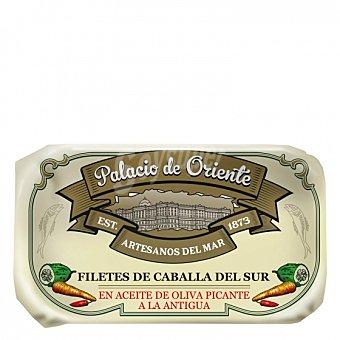 Palacio de Oriente Filetes de caballa del sur en aceite de oliva picante a la antigua Palacio de Oriente 85 g