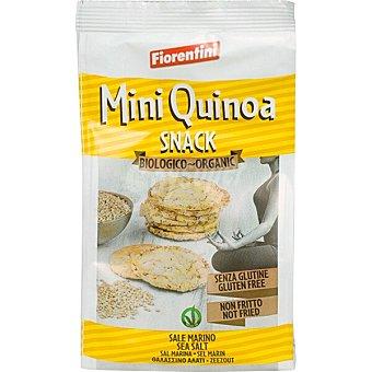 Fiorentini Snack mini de quinoa sin gluten no frito ecológico bolsa 00050 g