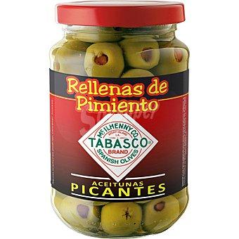 Serpis Tabasco Aceitunas picantes rellenas de pimiento  Frasco 200 g
