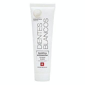 Cosmetica dental Dentifrico pasta antimanchas dientes blancos (con polvo de perla) Tubo 100 ml