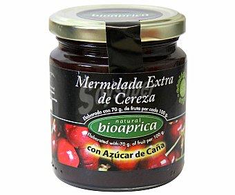 BIOAPRICA Mermelada de Cereza con Azúcar de Caña Ecológico 275 Gramos