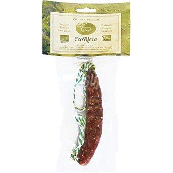 Ecoriera Chorizo mini ecológico sin gluten Envase 90 g