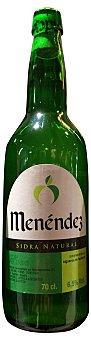 Menéndez Sidra natural Asturiana Botella 70 cl