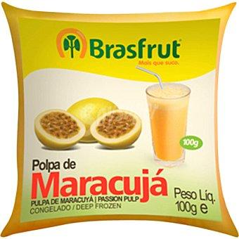 Brasfrut pulpa de maracuyá bolsa 100 g