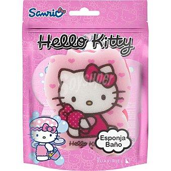 Suavipiel Esponja de baño Hello Kitty bolsa 1 unidad Bolsa 1 unidad