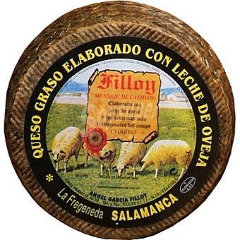 GARCIA FILLOY Queso semicurado leche cruda de oveja  3 kg (peso aproximado pieza)