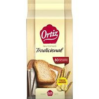 Ortiz Pan tostado normal Paquete 720 g