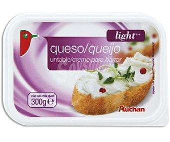 Auchan Queso para untar Light 300 Gramos