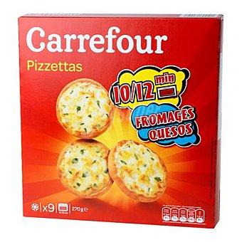 Carrefour Mini pizza 3 quesos 270 g