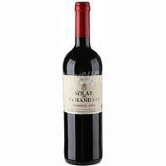 Solar samaniego Vino Tinto Reserva D.O.C. Rioja Botella 75 cl