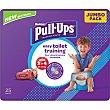 Pañales de aprendizaje talla 6, para niños de 16 a 23 kilogramos Bolsa 22 u Huggies Pull-Ups
