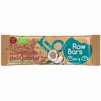 Delicatalia Barrita raw de coco-chía 30 g