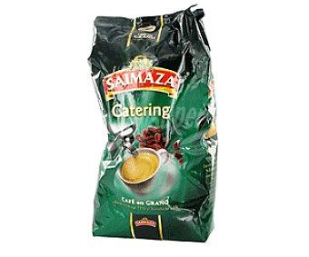 Saimaza Café Mezcla 75% Natural y 25% Torrefacto Especial Catering en Grano 1kg
