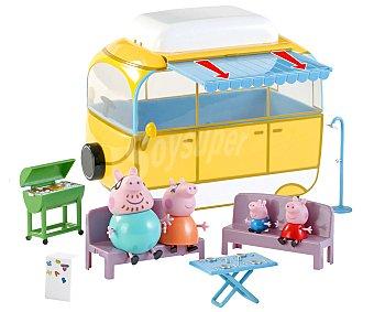 Bandai Vehículo Autocaravana de Camping de Peppa Pig 1 Unidad
