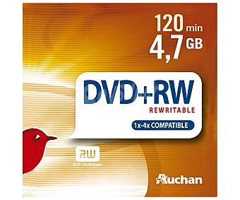 Auchan Pack slim 5 DVD+RW 5und