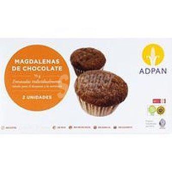 Adpan Magdalena de chocolate 2 unid