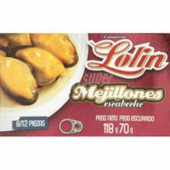 Lolín Mejillón en aceite de oliva Lata 120 g