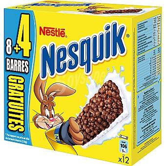 Nestlé barritas de cereales con chocolate estuche 300 g 12 unidades