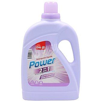 DIA Detergente máquina líquido con suavizante 2 en 1 Botella 27 lavados