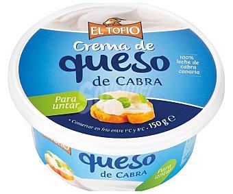 El Tofio Crema de queso de cabra 150 g
