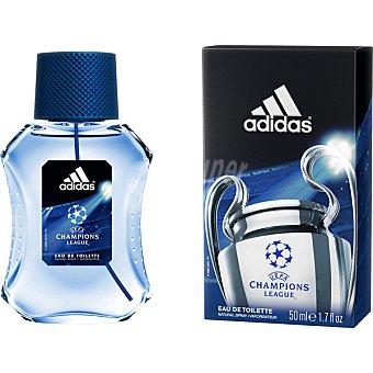 Adidas EAU TOILETTE HOMBRE UEFA CHAMPIONS LEAGUE VAPORIZADOR BOTELLA 50 cc