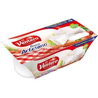 El Ventero Queso fresco artesano sin gluten pack 2 x 100 g envase 200 g envase 200 g