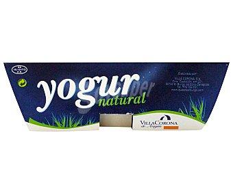 Villacorona Yogur natural Pack 2 x 125 g
