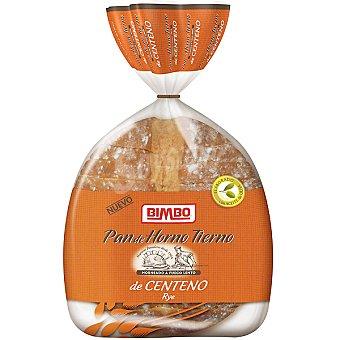Pan de Horno Bimbo Pan hogaza de centeno cortado elaborado con aceite de oliva tierno paquete 750 g