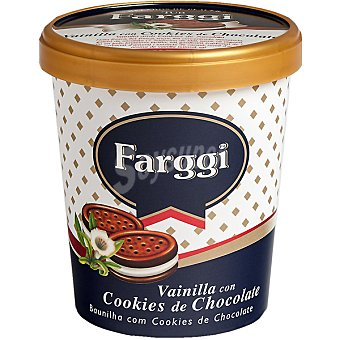 Farggi Helado vainilla con cookies de chocolate Tarrina 500 ml