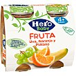 Zumo de uva-naranja-plátano Pack 2x130 ml Hero
