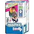 Pañales 15-23kg Talla 6 Baby Up bolsa 12 unidades MOLTEX Baby Up