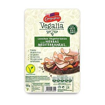 Vegalia Campofrío Lochas vegetarianas a las hierbas mediterráneas Paquete 100 g