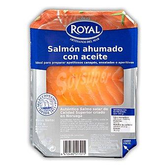 Pescados Royal Salmón ahumado con aceite Envase 110 gr