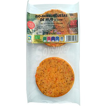 INTEGRAL ARTESANS bio hamburguesa de mijo Envase 180 g