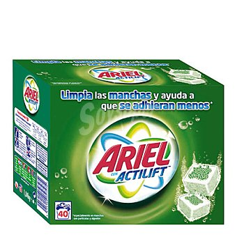 Ariel Detergente pastillas 40 pastillas