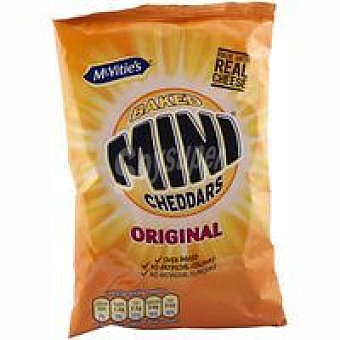 McVities Snacks mini Cheddars Original Bolsa 200 g
