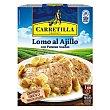 Lomo al ajillo con patatas asadas 250 g Carretilla
