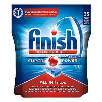 Finish Lavavajillas máquina todo en 1 35 ud