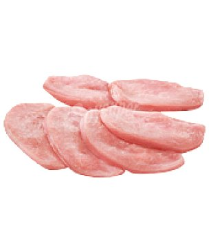 Carrefour Pechuga de pollo extra fileteada Bandeja de 600.0 g.