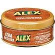 Limpia muebles cera incolora solida Lata 500 ml Alex