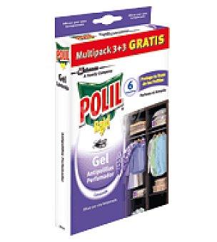 Polil Raid Antipolillas gel Lavanda 3 ud