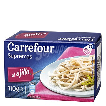 Carrefour Supremas ajillo en aceite de girasol 120 g