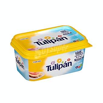 Tulipán Tarrina de margarina 3/4 con sal, elaborada con ingredientes de origen natural 500 g