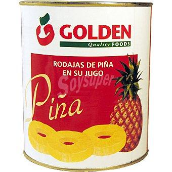 Golden Piña en rodajas en su jugo Lata 490 g neto escurrido