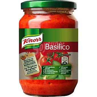 KNORR salsa basilico  Frasco 400 g