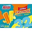 Frutinos polos de naranaja y limón 5 unidades estuche 400 g 5 unidades Kalise